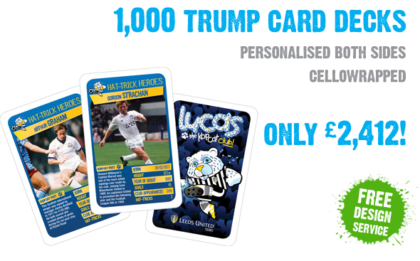 Printed Promotional Trumps